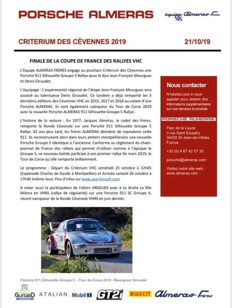 Critérium des Cévennes 2019