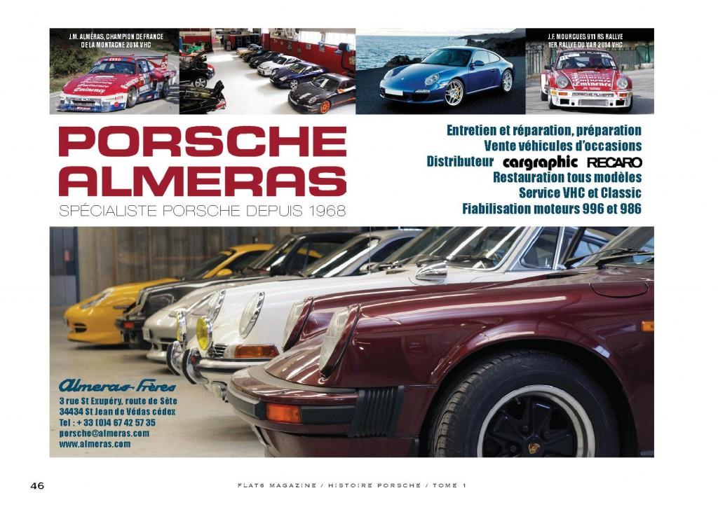 Flat 6 - La fabuleuse histoire Porsche - juillet 2015