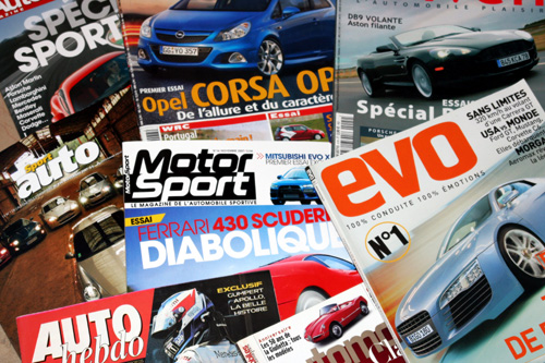 Porsche Alméras dans la presse sportive automobile