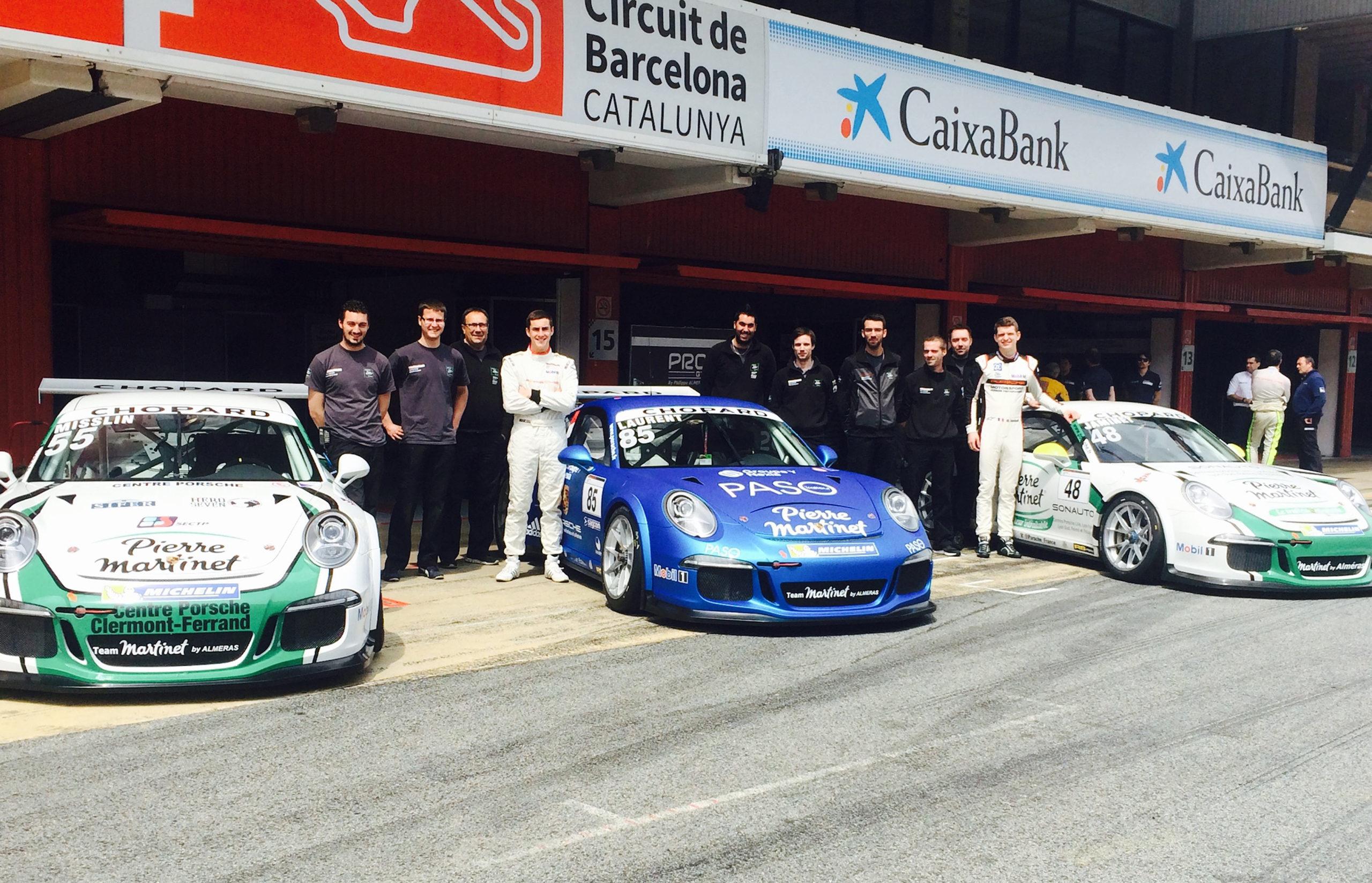 Double Victoire pour le Team PRO GT