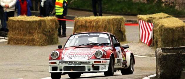 Porsche Almeras au rallye d'Antibes