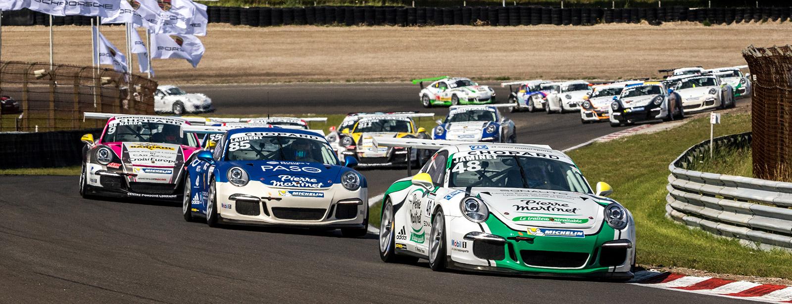 Week-end pour la finale au Paul Ricard de la Cup Porsche France – 28, 29 et 30 Octobre 2016