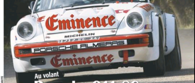 Porsche Almeras en une d'Echappement Classic