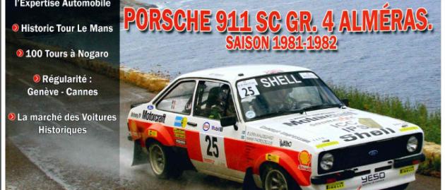 Porsche Almeras en une de Rétro-Course