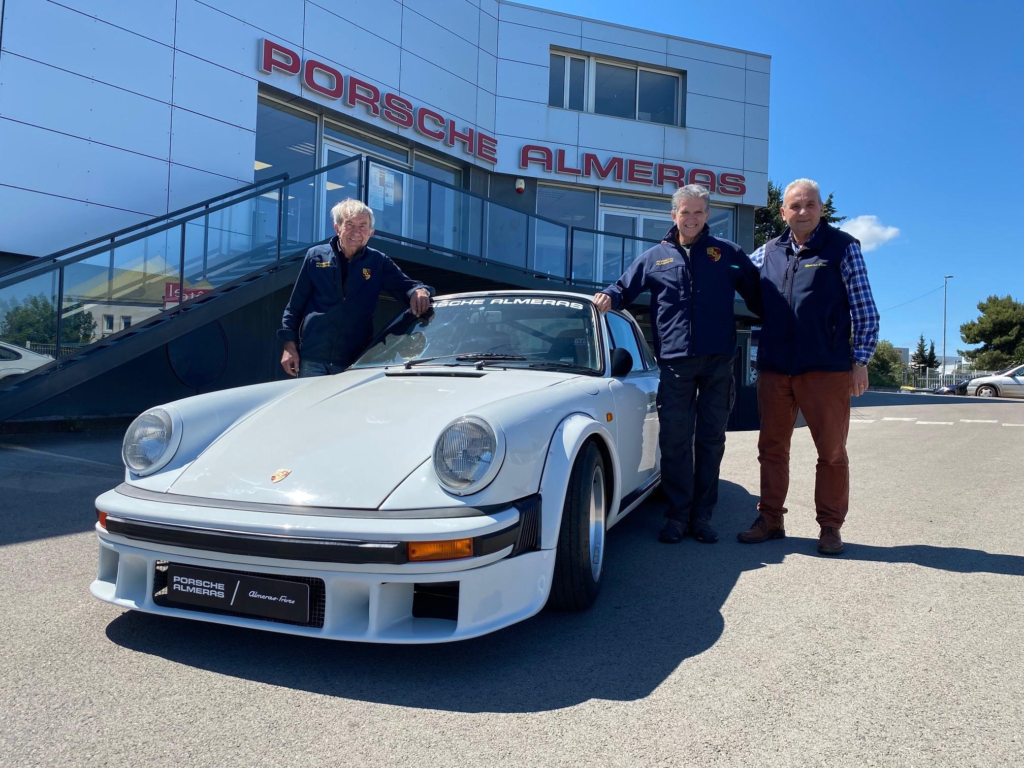 Une nouvelle préparation Porsche Alméras